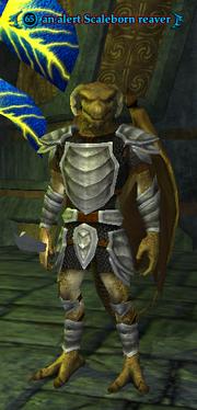 An alert Scaleborn reaver
