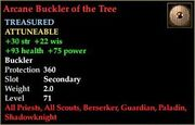 Arcane Buckler of the Tree