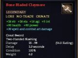 Bone Bladed Claymore