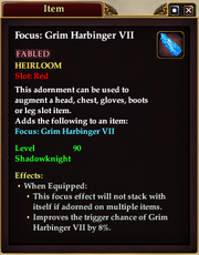 Grim Harbinger Adornment