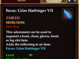 Focus: Grim Harbinger VII