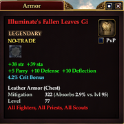 Illuminate's Fallen Leaves Gi