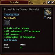 Lizard Scale Devout Bracelet