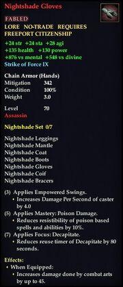 Nightshade Gloves
