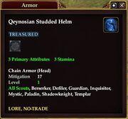 Qeynosian Studded Helm