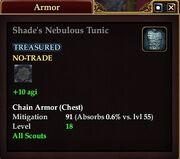 Shade's Nebulous Tunic