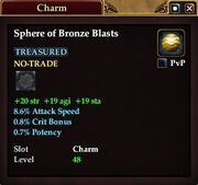 Sphere of Bronze Blasts