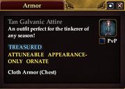 Tan Galvanic Attire
