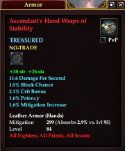 Ascendant's Hand Wraps of Stability