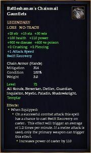 Battleshaman's Chainmail Gauntlets