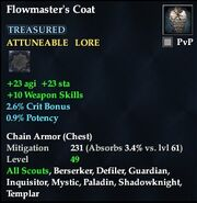 Flowmaster's Coat