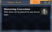 Harrowing Gravestone
