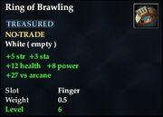 Ring of Brawling