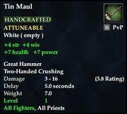 Tin Maul