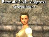 Barmaid Lolla Cotgrove