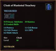 Cloak of Blanketed Treachery
