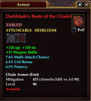 Darkblade's Boots of the Citadel