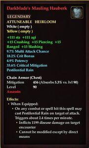 Darkblade's Mauling Hauberk