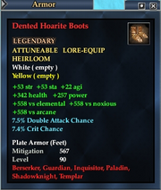 Dented Hoarite Boots