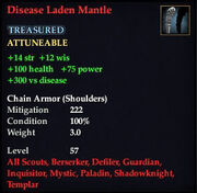 Disease Laden Mantle