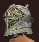 Dragoon's Helmet of the Weaponmaster (Equipped)