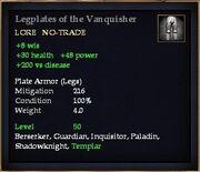 Legplates of the Vanquisher