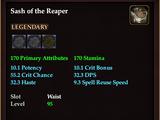 Sash of the Reaper