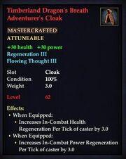 Timberland Dragon's Breath Adventurer's Cloak