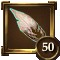 Wing achievement 50 icon