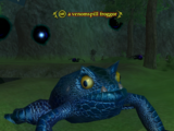 A venomspill froggor