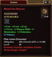 Blood Ore Bracers (Equipment)