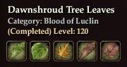 Dawnshroud Tree Leaves