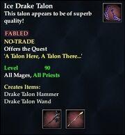 Ice Drake Talon