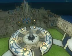 Qeynos T3 guild hall at night