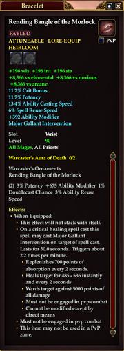 Rending Bangle of the Morlock