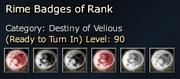 Rime Badges of Rank