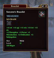Sorcerer's Bracelet