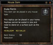 Duke Ferrin - Replica