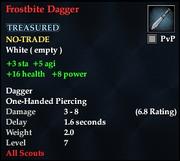 Frostbite Dagger