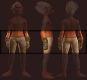 Gauntlets of the Red Shadow (Equipped)