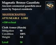 MagmaticBronzeGauntlets