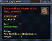 Metalworkers' Secrets of the Void, Volume I
