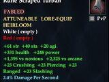 Rune Scraped Turban