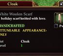 White Woolen Scarf