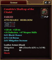 Cenobite's Skullcap of the Citadel