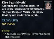 Dire Bear (Mystic)