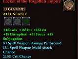 Locket of the Forgotten Empire