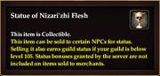 Statue of Nizari'zhi Flesh