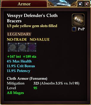 Vesspyr Defender's Cloth Bracers (1 of 3)