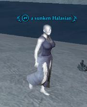 A sunken Halasian